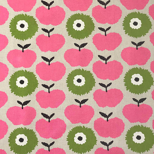 Apples and Carnations (pink and green)