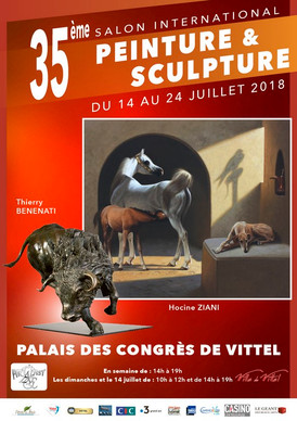 Salon International Peinture & Sculpture de Vittel (France)