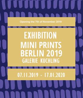 Mini Prints Berlin 2019 (Allemagne)