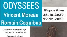 Exposition Odyssées de V. Moreau et R. Coquibus (Suisse)