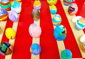 Oeufs de Pâques des enfants