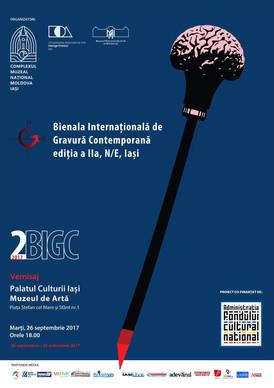 2nde Biennale internationale de gravure contemporaine, Iasi (Roumanie)