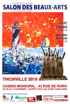 Salon des Beaux Arts de Thionville 2019 (France)