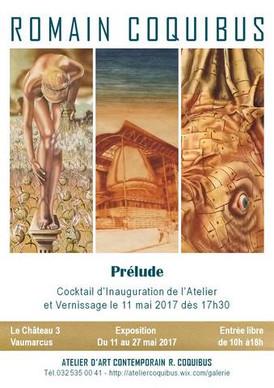 """Inauguration de l'Atelier d'Art Contemporain R. Coquibus et Exposition """"Prélude"""""""