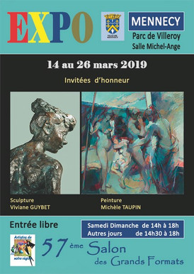 Salon des Grands-Formats, Mennecy (France)