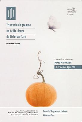 4ème Triennale de Gravure en taille-douce 2018 de Lisle sur Tarn (France)