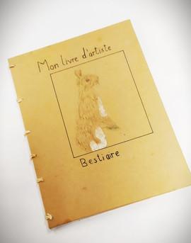 Livre d'artistes des enfants