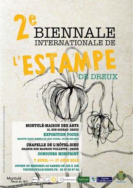 2ème Biennale de l'Estampe de Dreux 2018 (France)