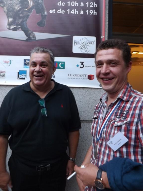 Jérôme Bouis et Romain Coquibus
