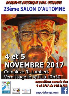 23ème Salon d'Automne Talange (France)