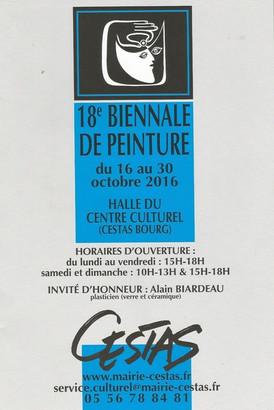 18ème Biennale de Cestas