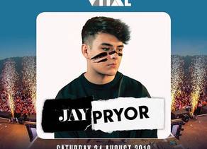 Jay Pryor to play Belfast Vital with Timmy Trumpet, Jonas Blue, Fedde Le Grand and MaRLo 24 Aug 2019