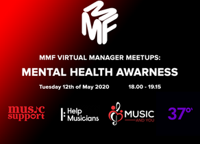 37° Founder Nick Myers joins the MMF's Virtual Manager Meetup ahead of Mental Health Awareness week