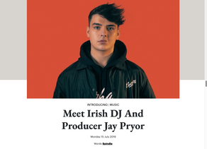 Read Spindle Magazine's 'Introducing' feature on Jay Pyor