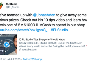Jonas Aden teams up with FL Studio to give away $6000