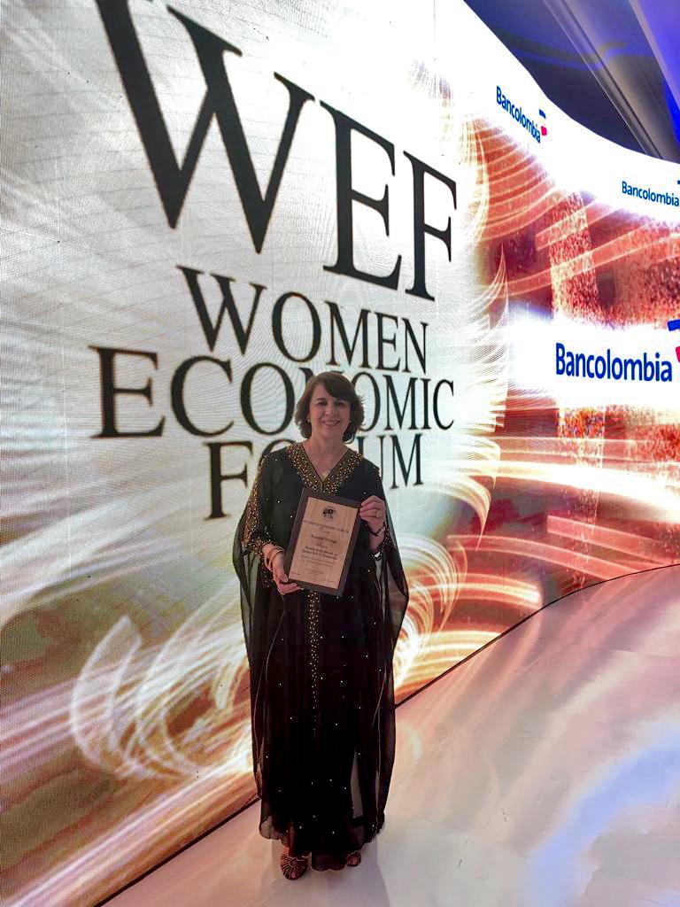 Rosalía Arteaga WEF1