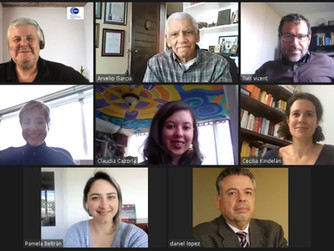 Jurado Internacional evalúa proyectos del Concurso 2019-2020