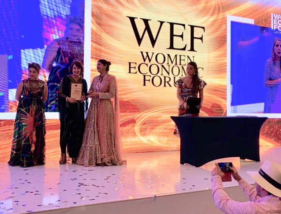 Rosalía Arteaga WEF2