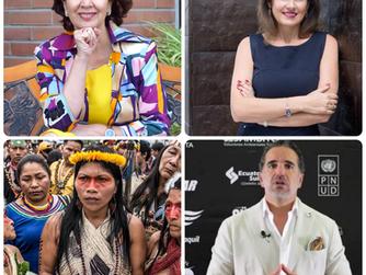 Rosalía Arteaga fue elegida entre los 100 latinos comprometidos con la acción climática