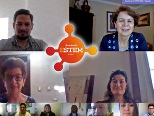 Profesores participan en la Academia E-STEM online