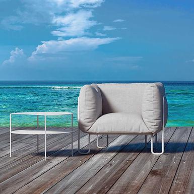 Fargo Soft 80 outdoor - Sunbrella upholstery