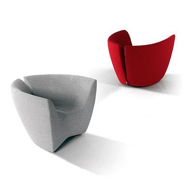 Apple  armchair - Kvadrat Divina Felt