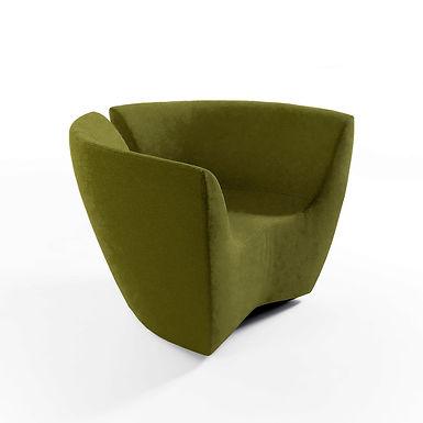 Apple rocking armchair