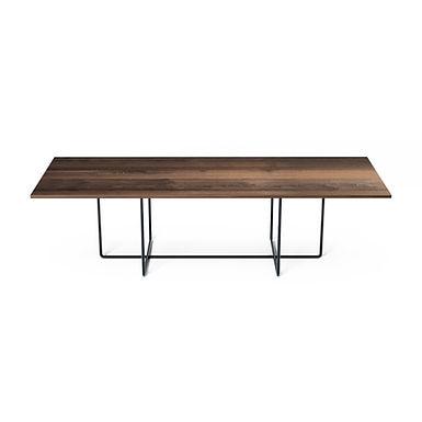 002.09 XP oak wood - rectangular dining table