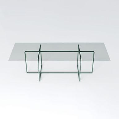 002.09 XP 240 crystal table - coated frame