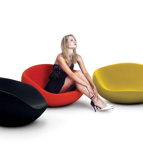Eero rocking chair - Kvadrat Divina felt