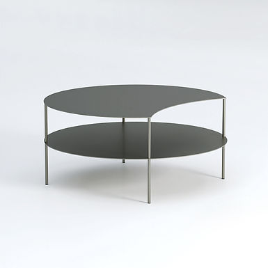 Eclipse 80 outdoor round side table