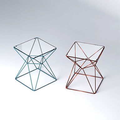 foxHole 50 square side table