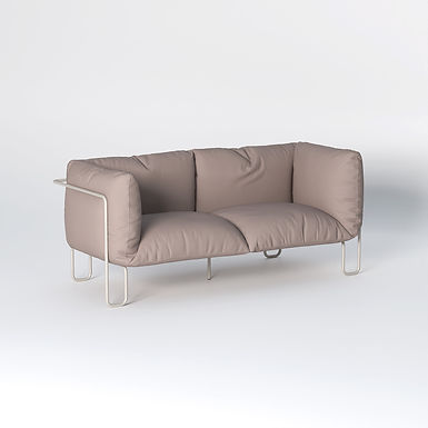 Fargo Soft 150 - indoor Leather couch