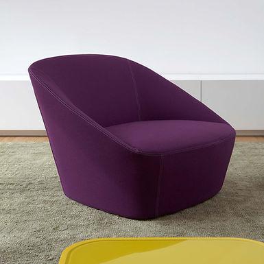Bucket 90  armchair - Kvadrat Divina Felt