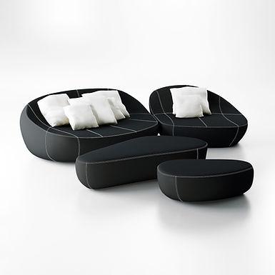 Flirtstones 200|130 - Cruiseline polyurethane fabric