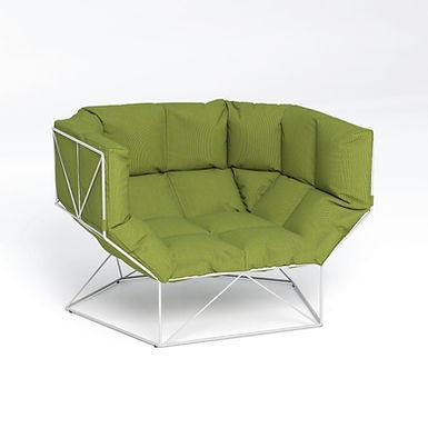 FoxHole 120 - outdoor armchair
