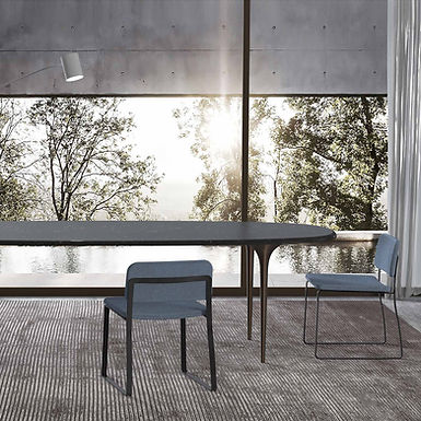 Organic Oval dining table - Material
