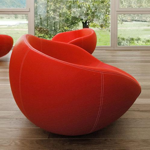 eero red armchairs