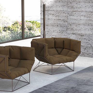 FoxHole 120 - Leather armchair