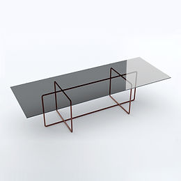 002.09 XP 260 crystal dining table