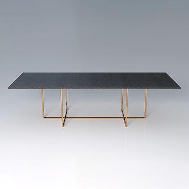 002.09 XP Material - rectangular dining table