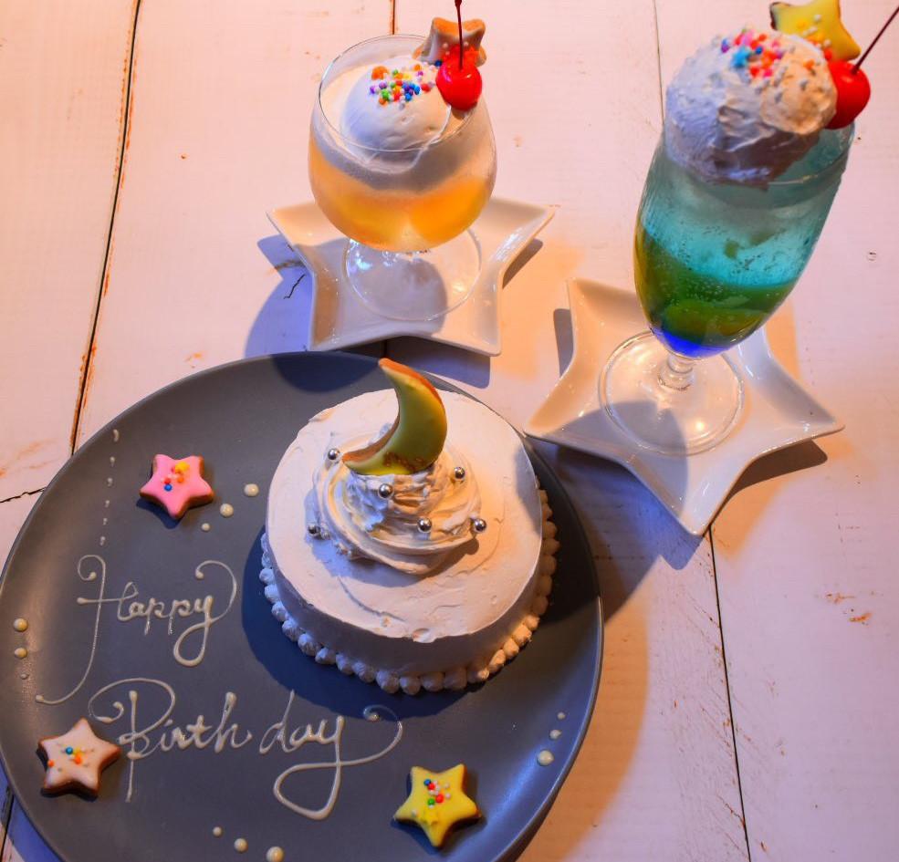 ケーキ&ドリンク