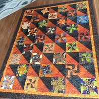 This quilt has been an 11 year work in p