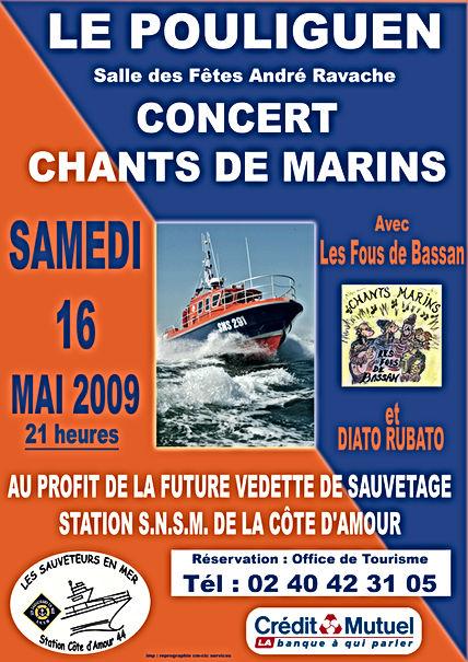 Les Fous de Bassan-affiche 2009 SNSM.jpg