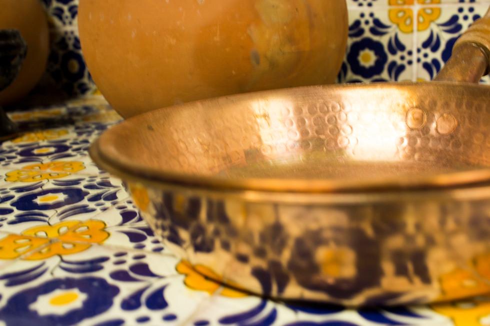 ¿Cómo cocinar en recipientes de cobre?