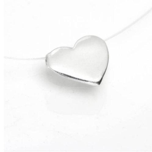 Colar Nylon Coração