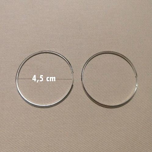 Argola Lisa 4,5 cm