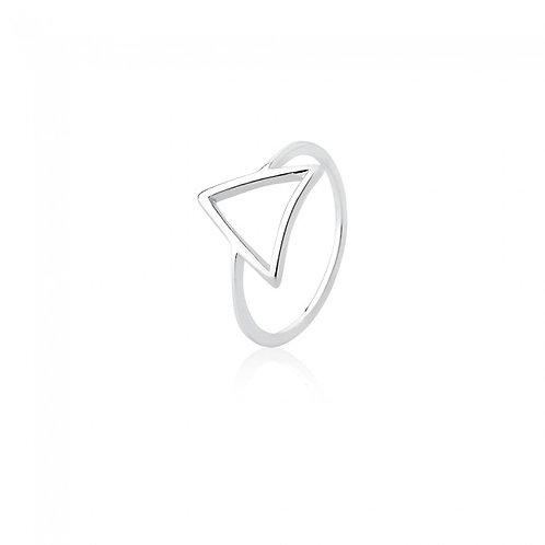 Anel Triangulo Vazado