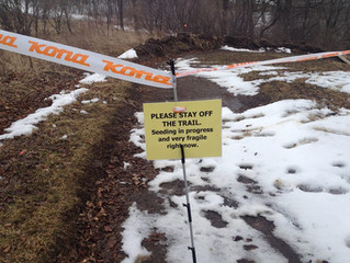Trail closure and you.