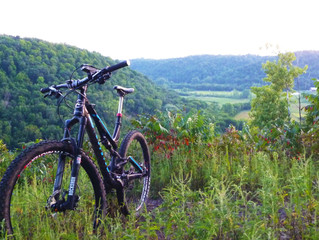 The myth of 20 miles. Dirt in the Driftless.